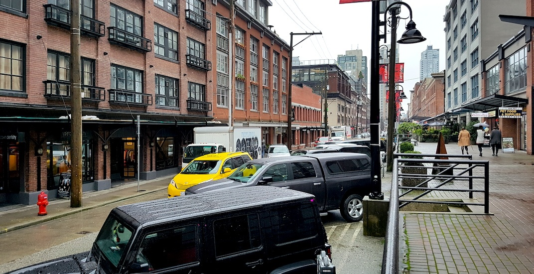 Yaletown parking