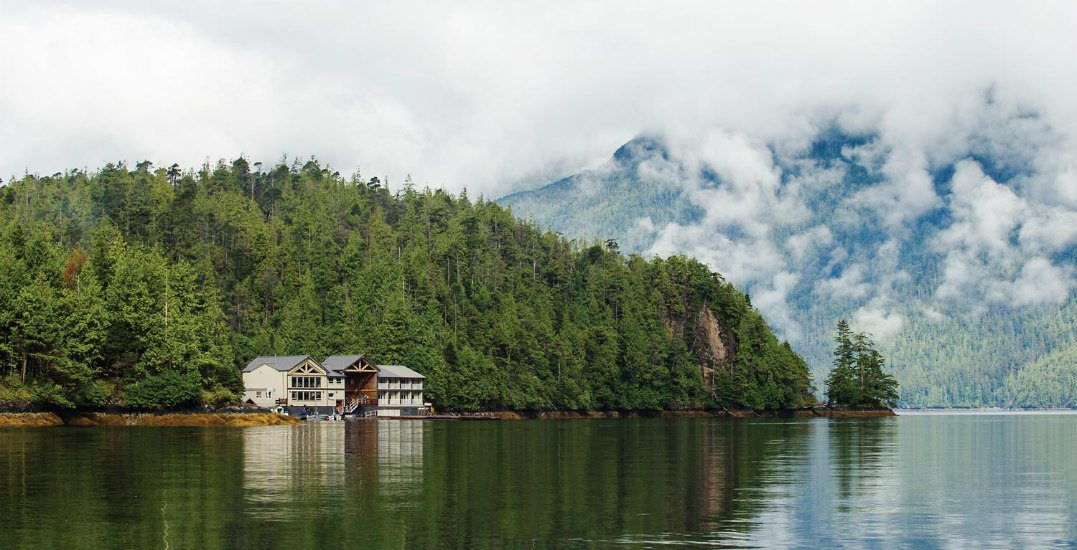 There's a majestic floating resort in BC that you need to visit ASAP
