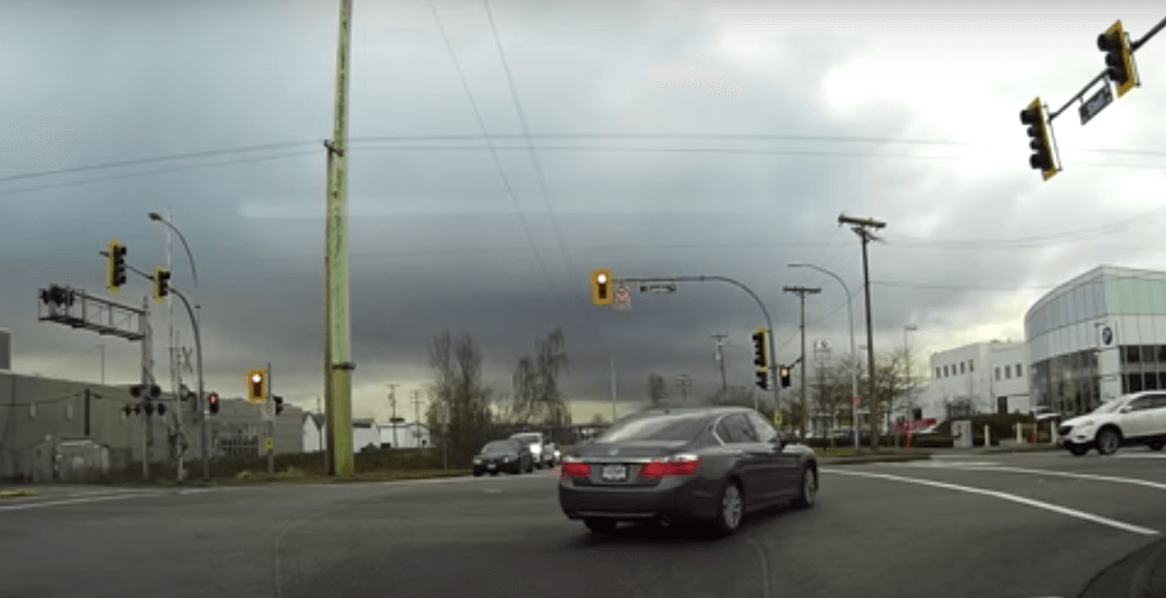 Dashcam captures drivers in Richmond running multiple red lights (VIDEO)