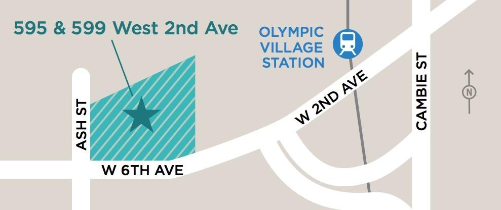 595 & 599 West 2nd Avenue Vancouver