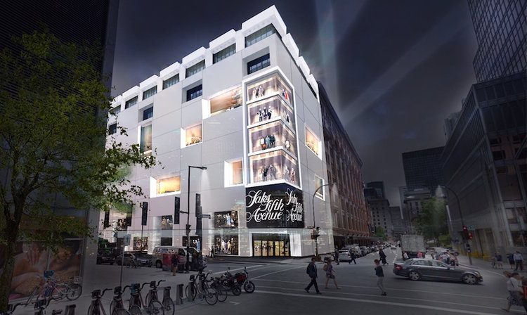 Downtown Bay renovation and Saks Fifth Avenue project put on hold: Report