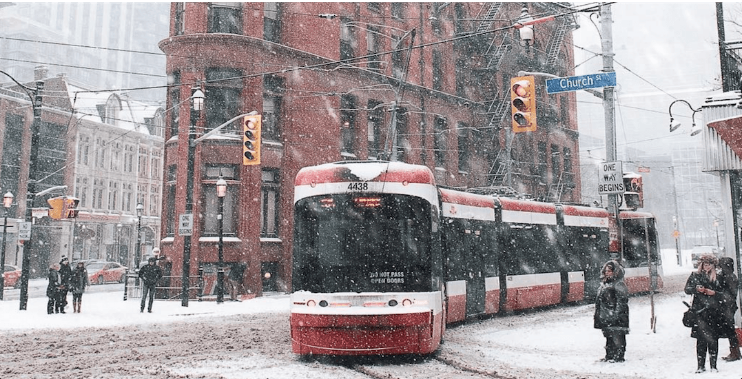 Up to 15 cm of snow could hit Toronto over the next week