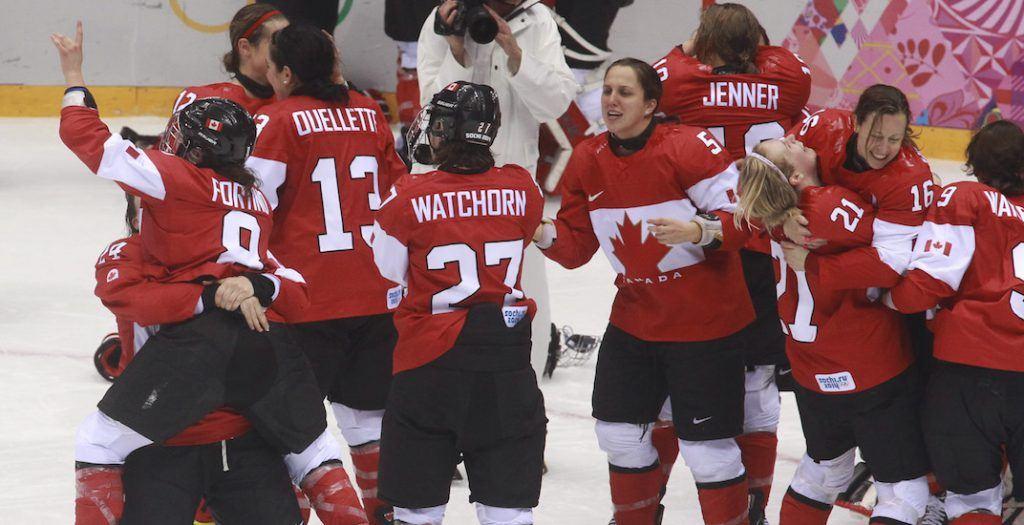 women hockey sochi 2014 canada