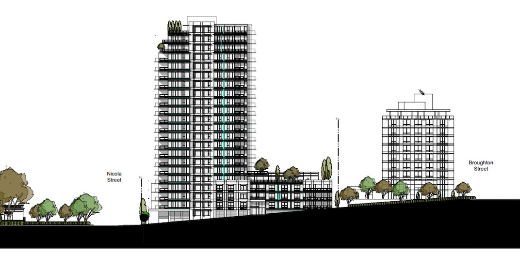 22-storey condo building proposed for Davie Street