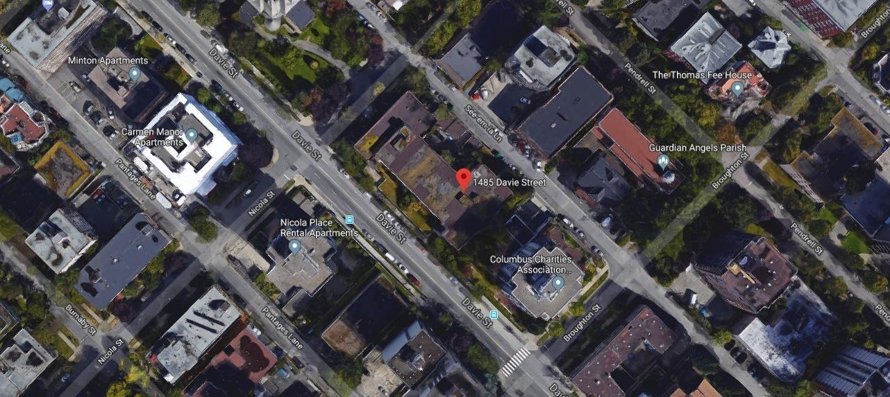 1485 Davie Street