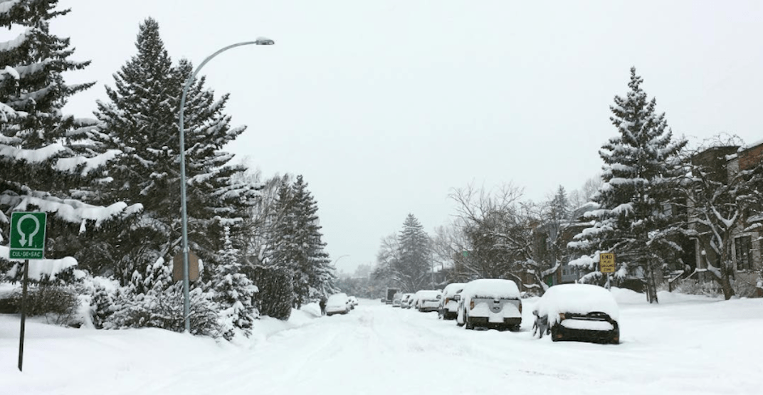 Snow route parking ban coming back into effect on Saturday
