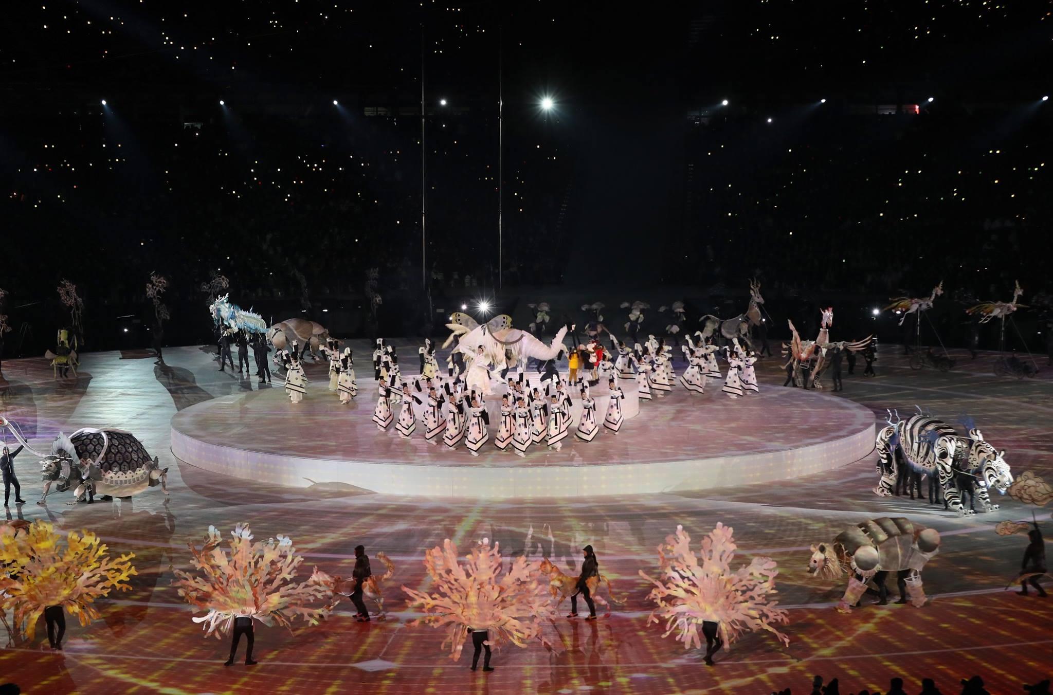 Pyeongchang 2018 Opening Ceremony