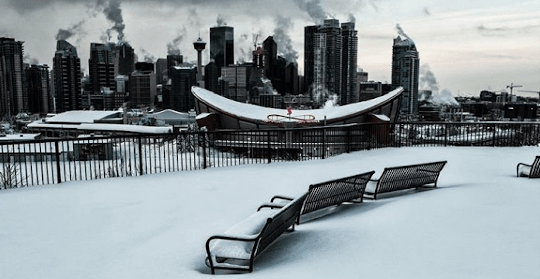 Snowfall Warning issued for city of Calgary on Wednesday morning