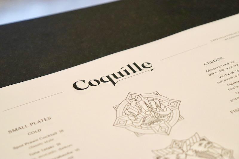 Coquille Fine Seafood Sneak Peek