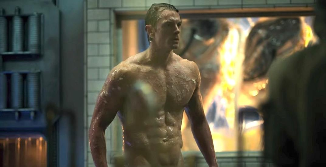 Joel kinnaman shirtless altered carbon netflix