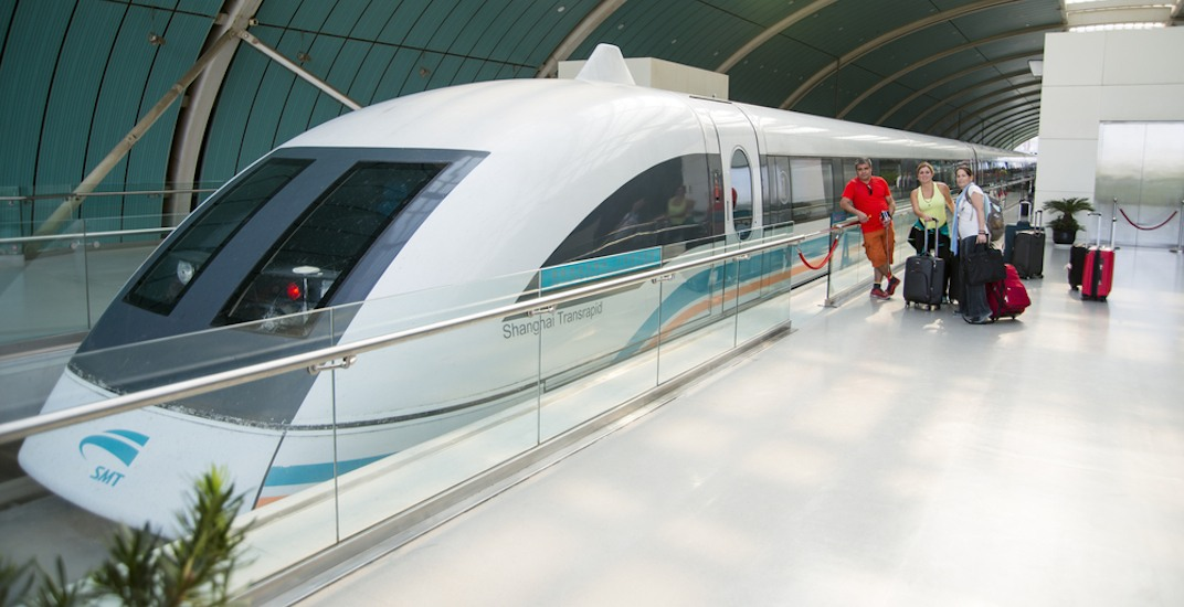 Maglev train shanghai china