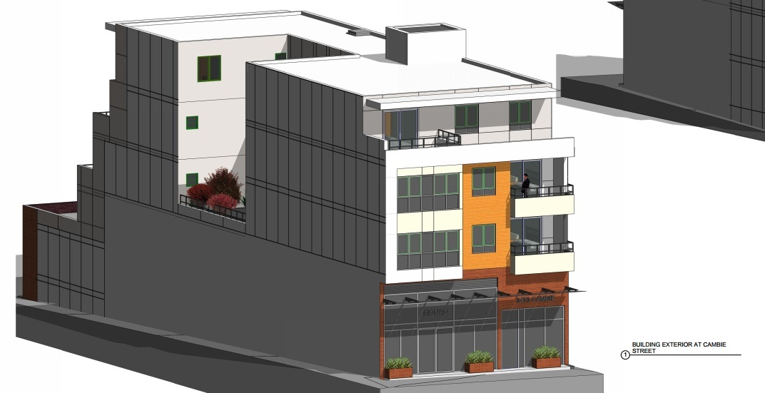 Pronto Cafe on Cambie Street to be redeveloped into dental office and housing