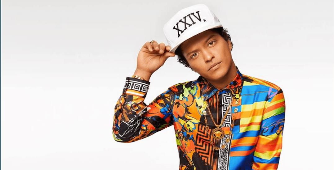 Bruno Mars is bringing his 24k Magic World Tour back to Toronto this September