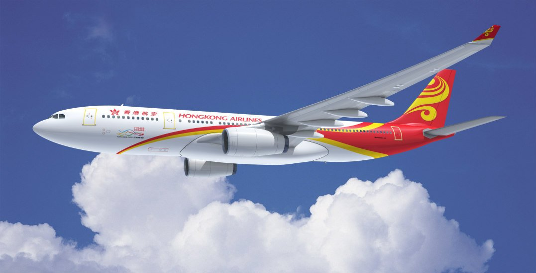 Hong Kong Airlines to discontinue its flight route to Vancouver