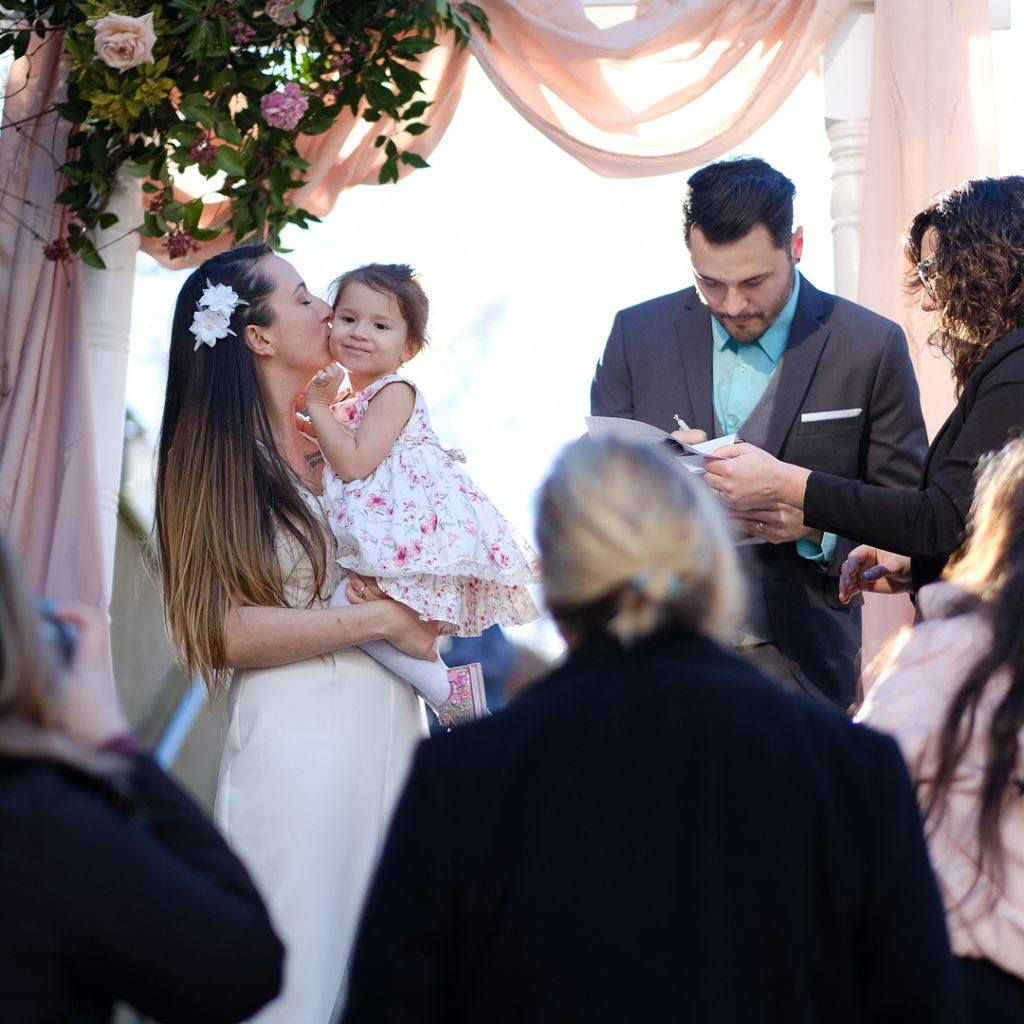 pop-up wedding