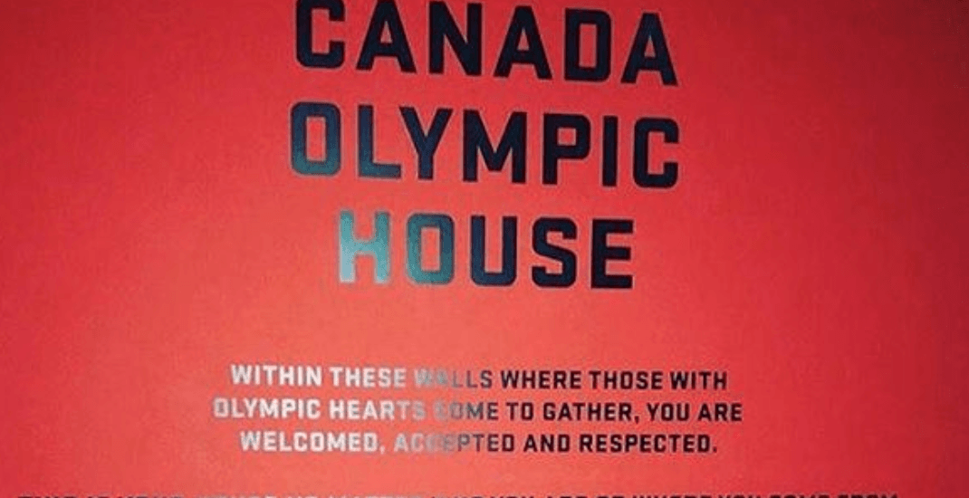 The inclusive welcome message at Canada House in Pyeongchang will melt your heart