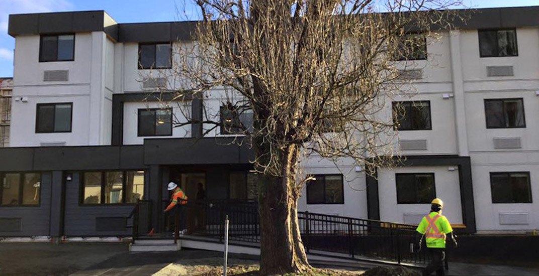 Marpole modular housing vancouver