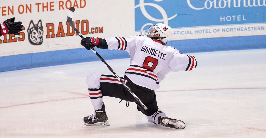 Adam Gaudette signs with Canucks, could make NHL debut this week