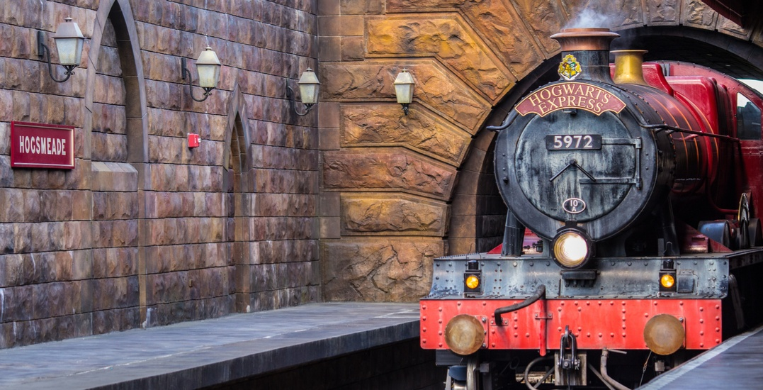 There's a Harry Potter themed train ride near Toronto this weekend