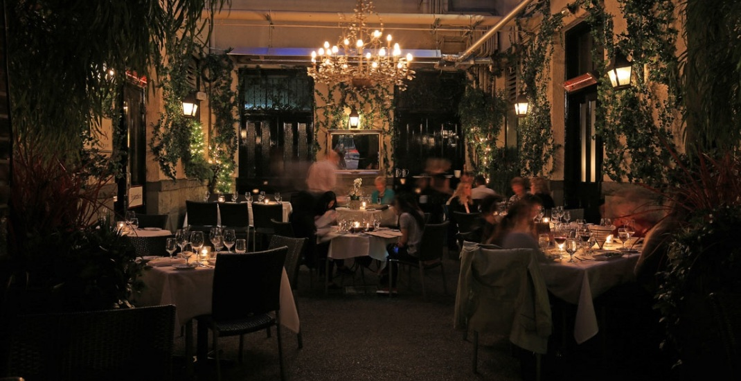 These Are 13 Of The Most Romantic Restaurants In Vancouver Dished