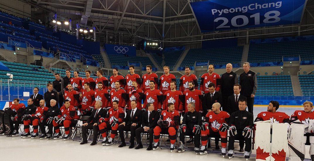 Hockey canada 2018 olympics