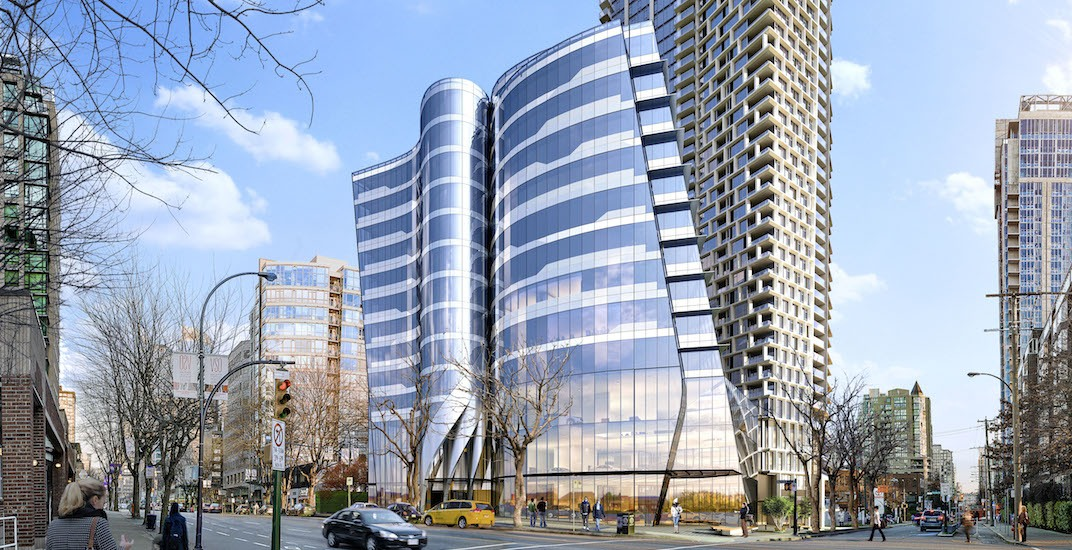 New Burrard Place office tower in downtown Vancouver to open in 2020