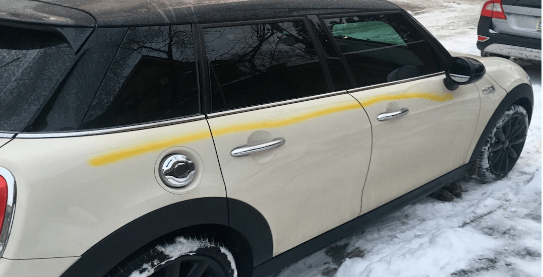 43 vehicles have been vandalized in Cabbagetown since January 1