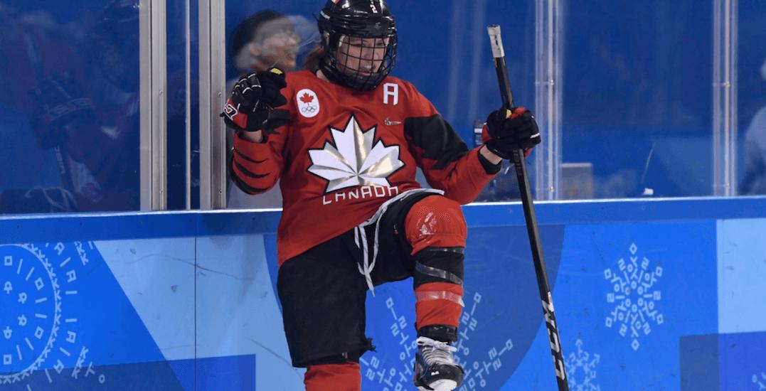 Team Canada beats arch-rival USA in women's hockey