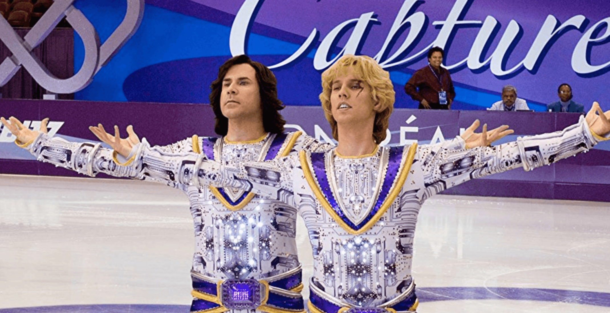 Olympic figure skating is making us nostalgic for that time 'Blades of Glory' was filmed in Montreal
