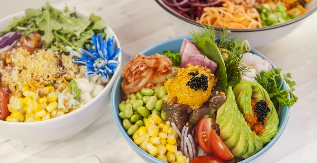 You can get a FREE poke, salad, or smoothie bowl in Toronto next week