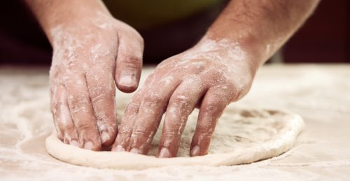pizza dough crust