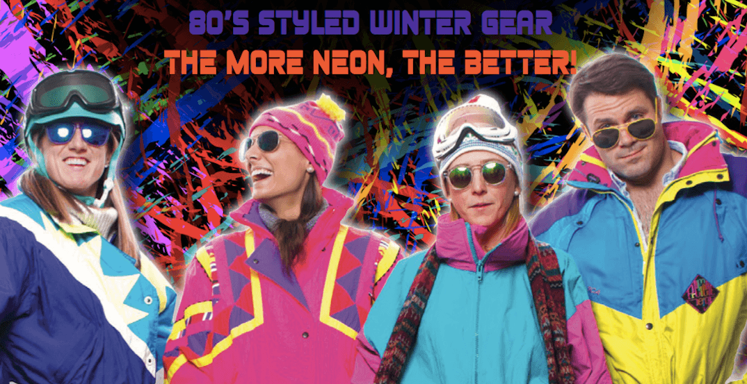 A 1980s Retro Themed Apres Ski Party is happening in Calgary this month