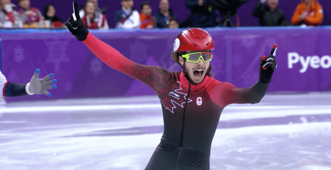 Speed skater Samuel Girard wins Canada's 5th gold medal of 2018 Olympics