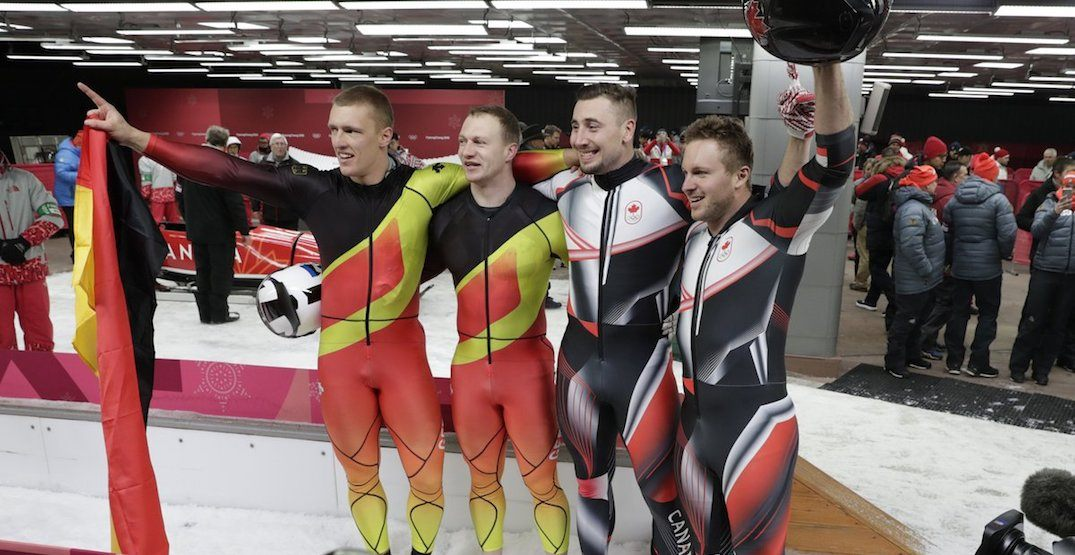 Canada wins GOLD in men's two-man bobsleigh
