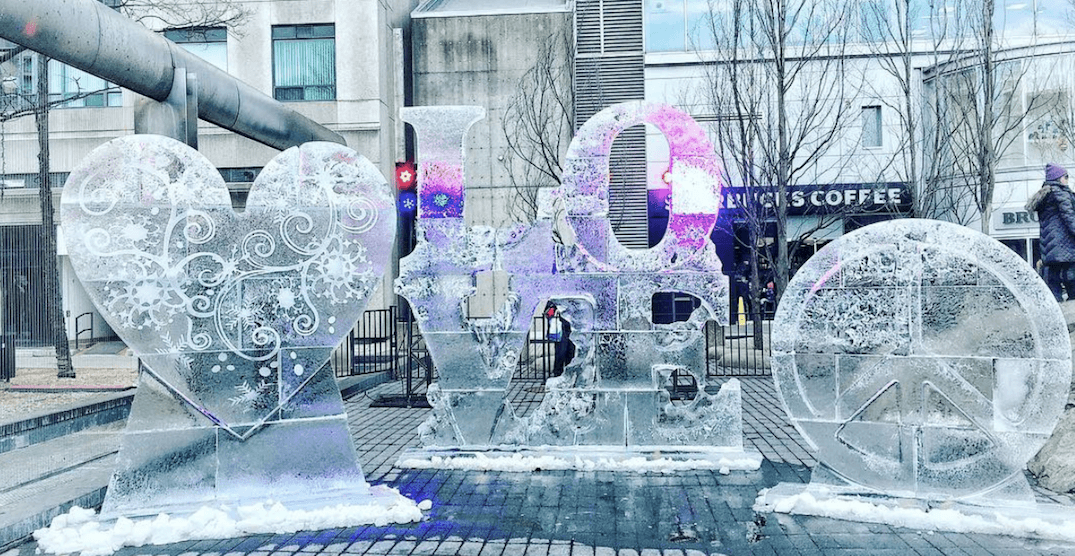 Icefest is taking over Yorkville Village this weekend