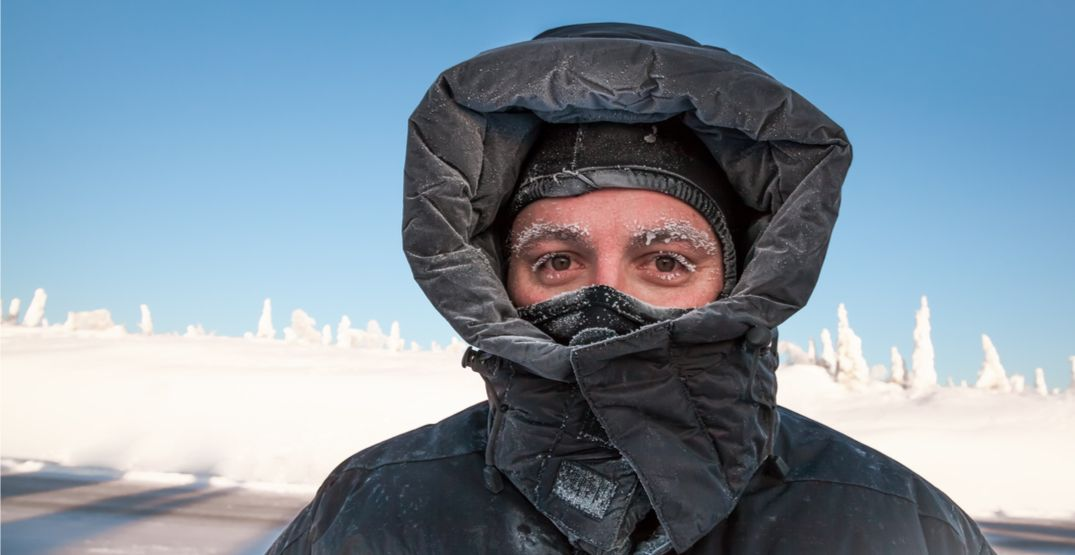 It's going to feel like –10°C in Vancouver tonight