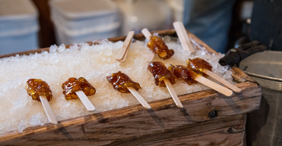 week maple taffy