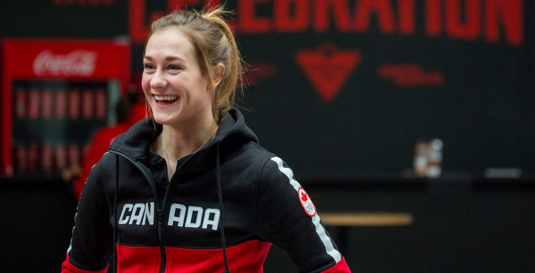 Olympian Taylor Henrich had a (surprise) virtual visit to Calgary this month