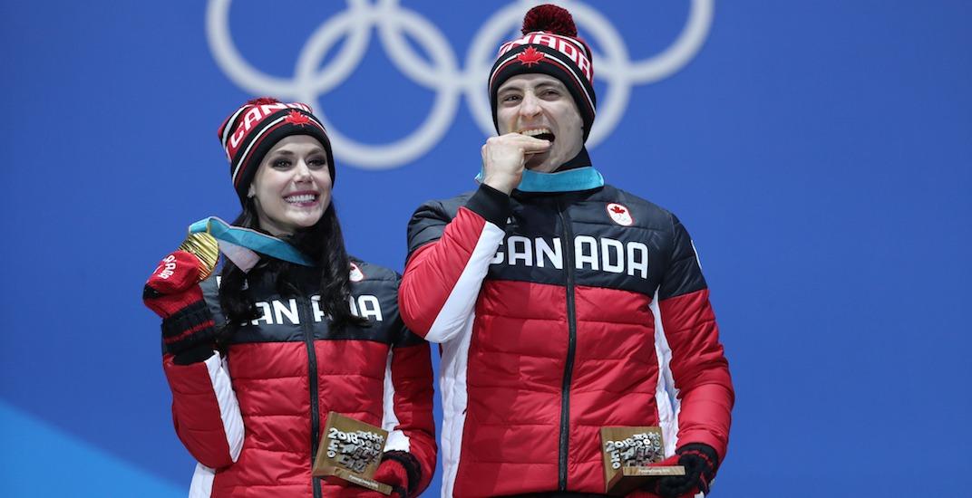 Virtue moir gold medal olympics