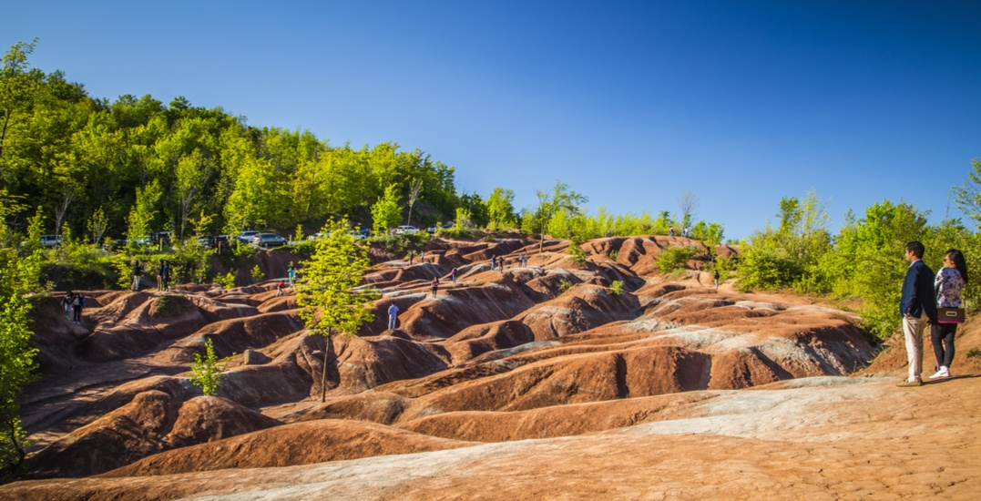 The Cheltenham Badlands are expected to reopen to the public this spring