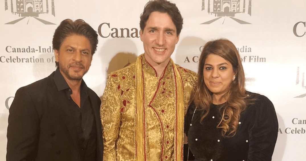 Justin Trudeau meets Bollywood's biggest star on India trip