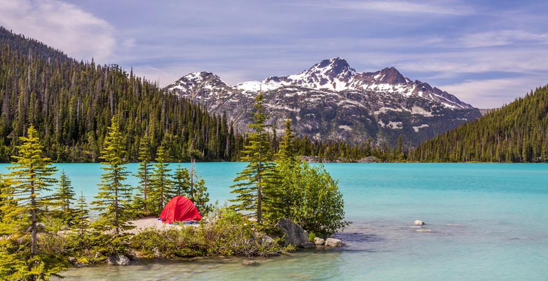 Joffre lakes bc camping