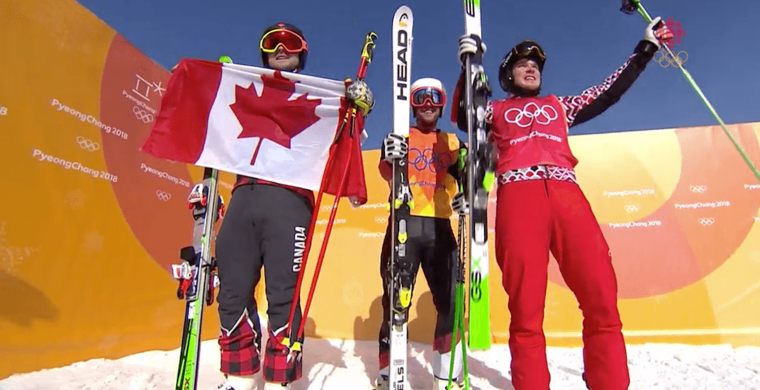 Canada's Brady Leman wins GOLD in ski cross