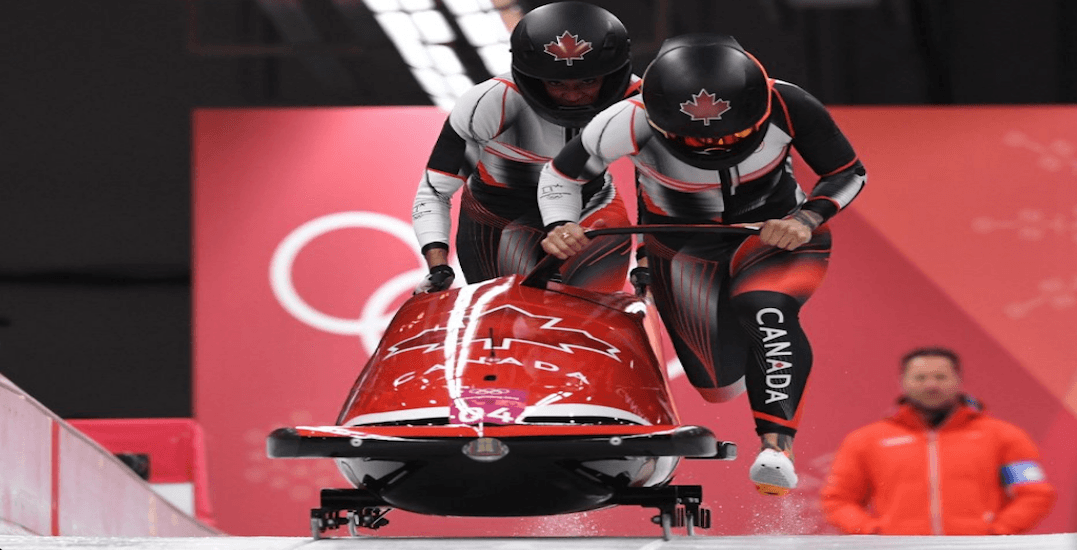 Kaillie Humphries and Phylicia George slide to bronze in women's bobsleigh