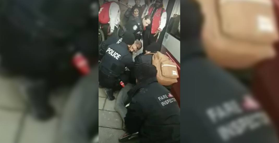 Teen pinned to ground outside streetcar sues TTC and Toronto police for racial profiling