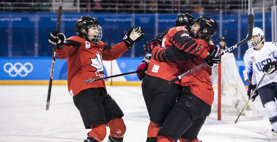Canada usa women hockey