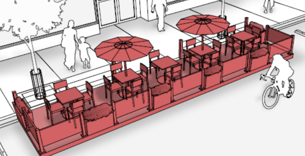 Curb lane cafes and parklets being proposed for Toronto streets