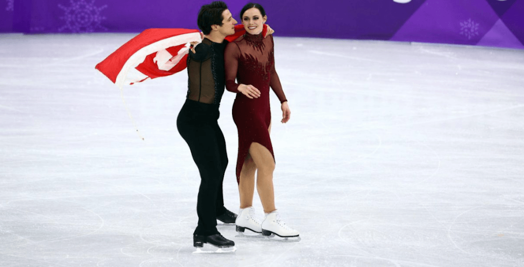 Tessa and Scott are coming to skate in Toronto next week