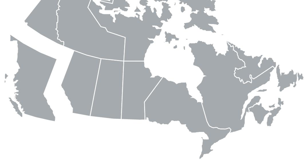Tmx canada map