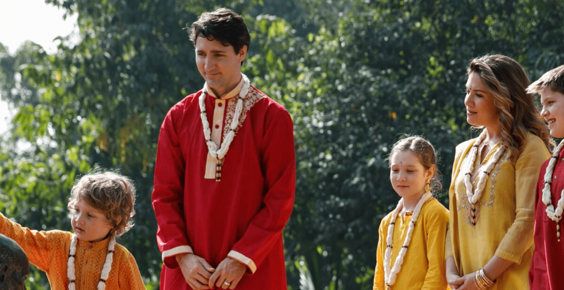Justin Trudeau has officially gone overboard with his clothing choices in India